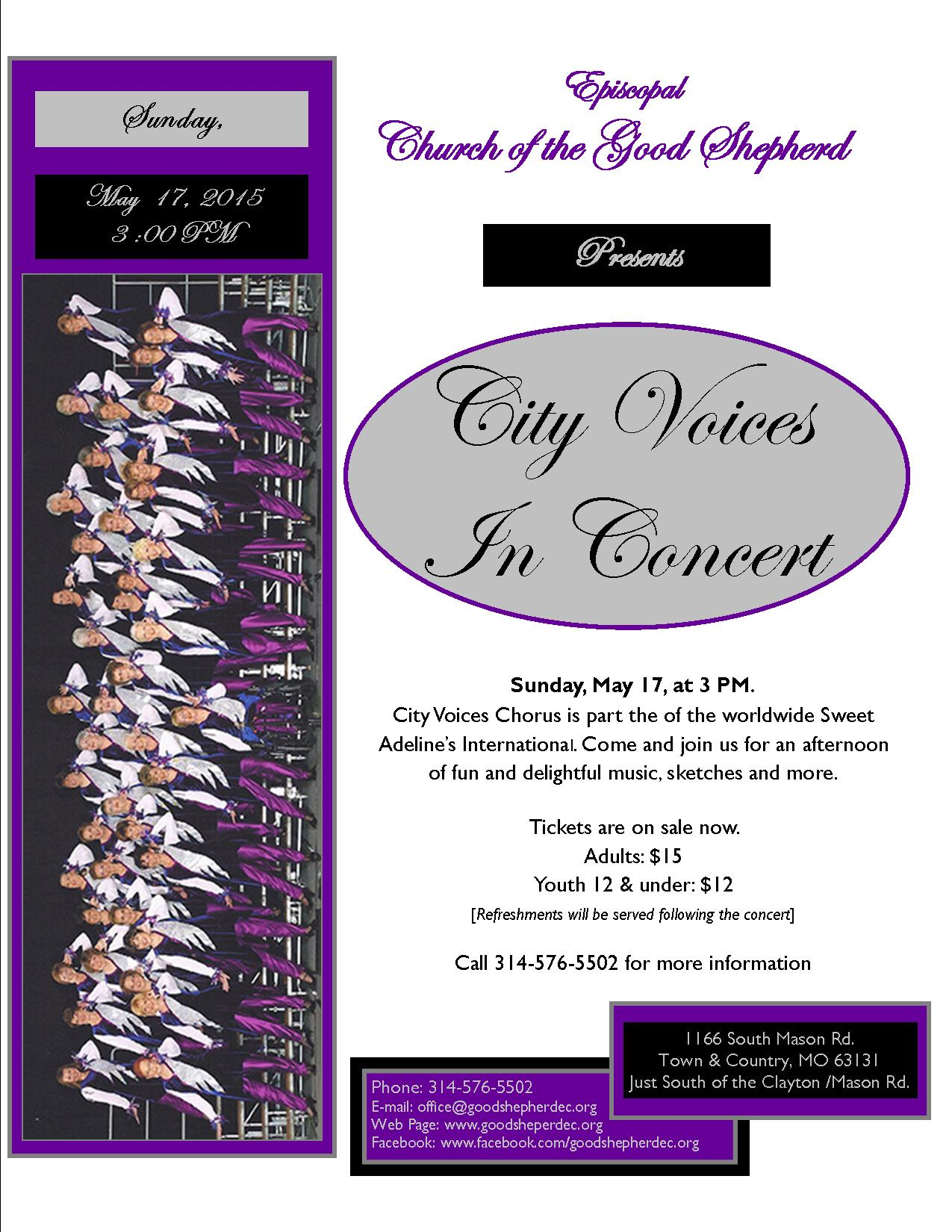 City Voices In Concert